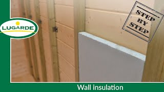 Build a log cabin: Wall insulation | Lugarde
