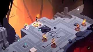 Lara Croft GO Walkthrough The Cave Of Fire - Level 1 - A New Adventure