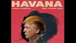 trump sings havana - TH-Clip