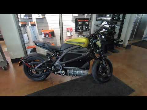 2020 Harley-Davidson LiveWire ELW