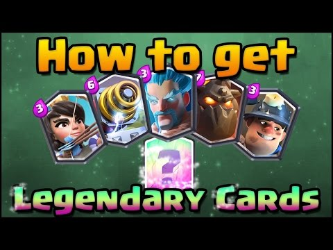 Video Cara Mendapatkan Kartu Legendary? CLASH ROYALE #2
