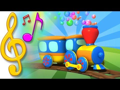 canciones para niños en ingles con TuTiTu   Tren   Aprender inglés para niños y bebés