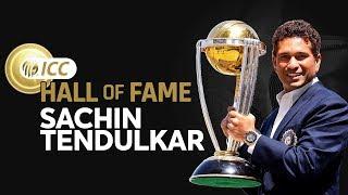 Sachin Tendulkar Enters The ICC Cricket Hall of Fame! | New Inductee
