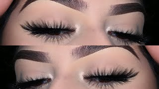 How To Apply False Eyelashes For Beginners +tips | Kayla Martinez