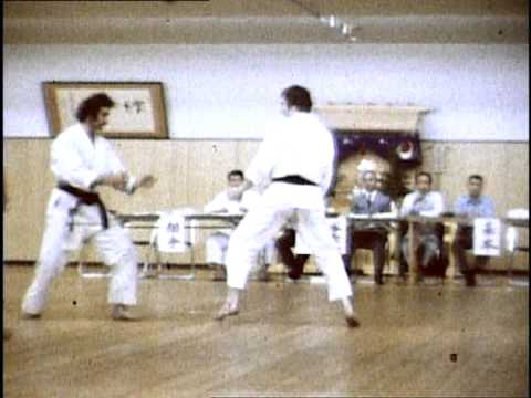 Michael Canoy (Karate Union Wien) – Prüfung 3.Dan, Tokio 1976