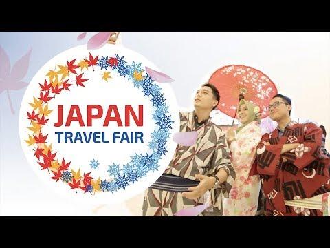 Jalan-Jalan ke Japan Travel Fair 2018