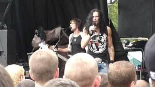 "Art of Dying ""Straight Across My Mind""  Uproar Festival, Scranton, PA 8/27/11 live concert"