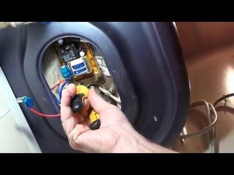 Ремонт водонагревательного бака FD -100V Polaris