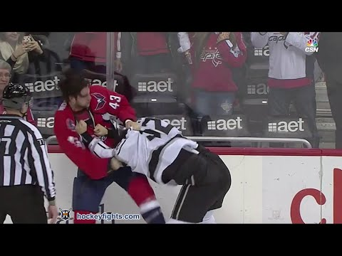 Tom Wilson vs. Luke Schenn