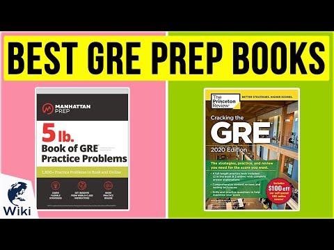 10 Best GRE Prep Books 2020 - YouTube