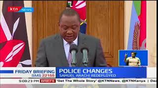 Police Changes:Ndegwa Muhoro no longer the DCI chief