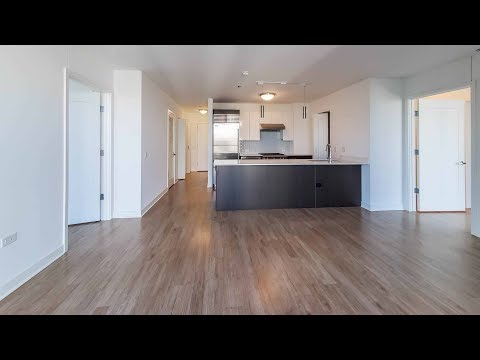 A penthouse-level 2-bedroom, 2-bath in River North at Wolf Point West