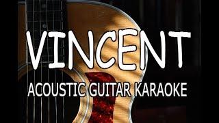 Ellie Goulding - Vincent (Acoustic Guitar Karaoke)