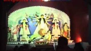 preview picture of video 'balurghat pooja 2009'