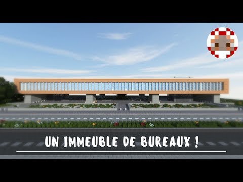 Immeuble moderne minecraft simple maison moderne luxe maps