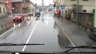 preview picture of video 'Gasilci PGD Loka pri Mengšu - Intervencijska vožnja - poplava Gorenjske ceste (Mengeš)'