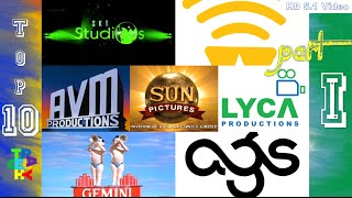 Top-10 Tamil Movie Production Company Intro