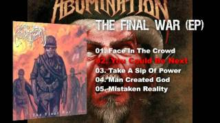 ABOMINATION - The Ultimate Abomination Legacy (re-release)