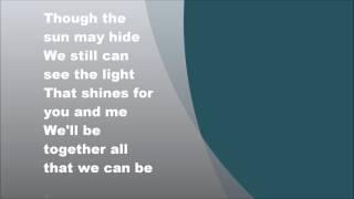 Jermaine Jackson & Pia Zadora - When the rain begins to fall, Lyrics