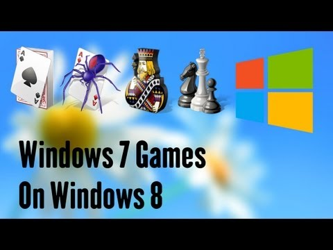Get Windows 7 Games in Windows 8