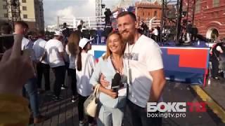 День бокса на Манежной площади