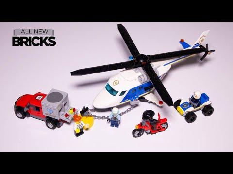 Vidéo LEGO City 60243 : L'arrestation en hélicoptère