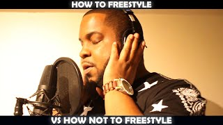 HOW TO FREESTYLE VS HOW NOT TO FREESTYLE