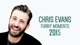 Chris Evans funny moments 2015