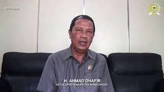Ketua DPRD Bondowoso Himbau Masyarakat Bondowoso Cegah Virus Covid-19 Ver Madura