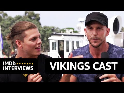 Gustaf Skarsgard, Alex Hogh Andersen, Katheryn Winnick Talk Stunts & Physical Demand of Vikings