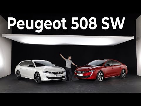 Peugeot 508 SW (2018) : première rencontre avec le nouveau break Peugeot