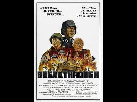 Breakthrough -1979- Richard Burton, Robert Mitchum (FULL MOVIE)