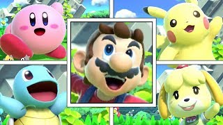 All Character's Taunts In Super Smash Bros Ultimate