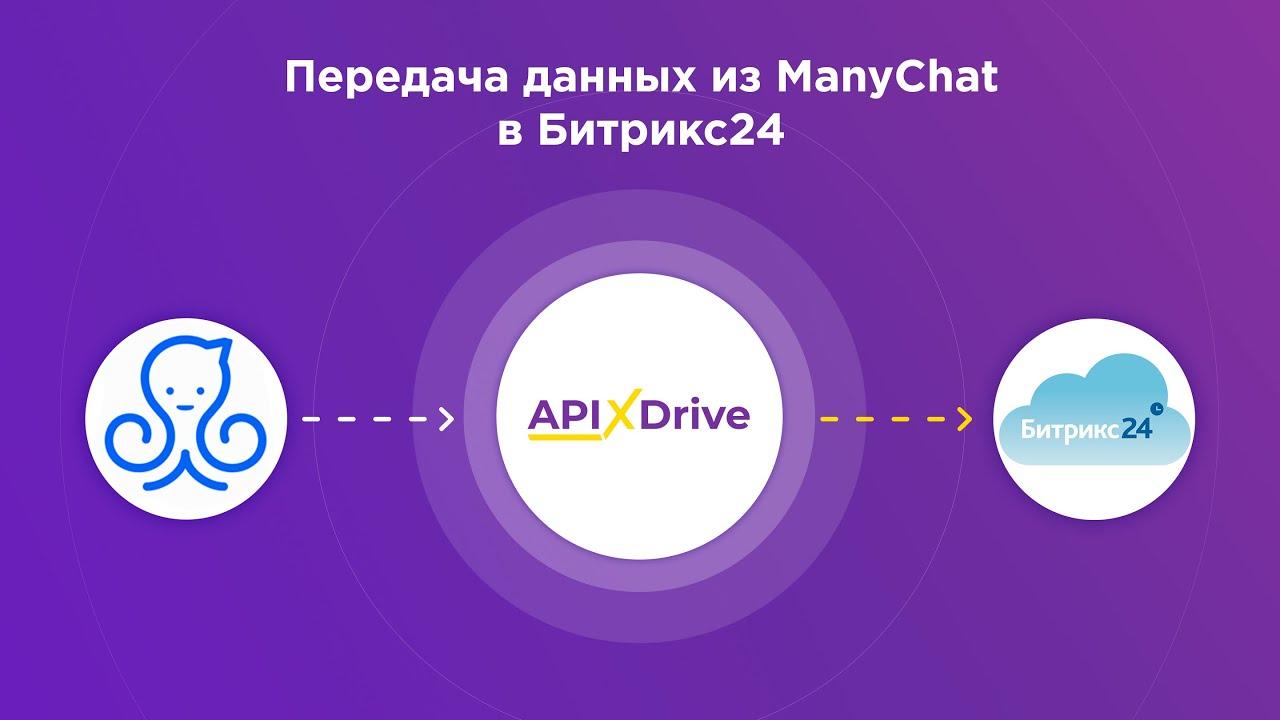 Как настроить выгрузку данных из ManyChat в виде лидов в Bitrix24?