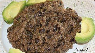 Mayi Moulin Ak Pwa Noir | Cornmeal With Black Beans| Episode 52