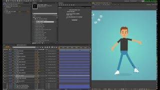 Rigged Characters for After Effects - Template - Videotutorial1