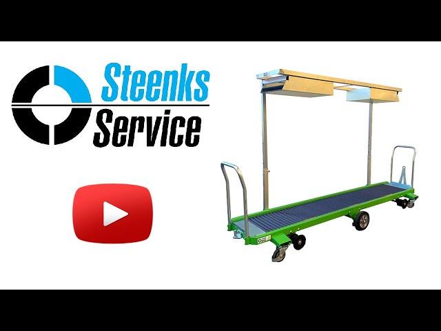 YouTube video   Erntewagen Strauchtomaten Greencart THCH