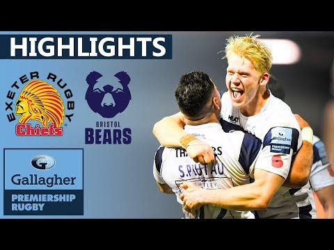 Exeter v Bristol HIGHLIGHTS | LAST SECOND TRY Wins Unbelievable Game | Gallagher Premiership 2019/20
