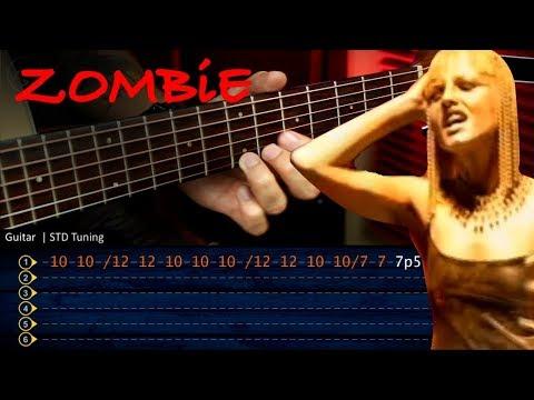 ZOMBIE The Cranberries - Guitar Tutorial TABS | Cover Guitarra Christianvib