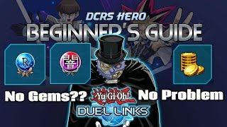 [DUEL LINKS] Beginner's Guide  - The Card Trader (No Gems, No Problem)