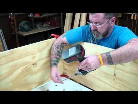 Part 2 Building Platform Storage Bed King Size Lull Mattress
