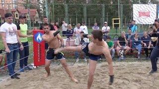 БОЕЦ ММА против Диванного бойца !!