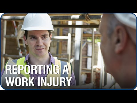 Video - How Soon do I Need to Report a Work Related Injury?