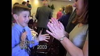 """Dancing to Don Moen's """"Jehovah Jireh"""" (June 7, 2003) 