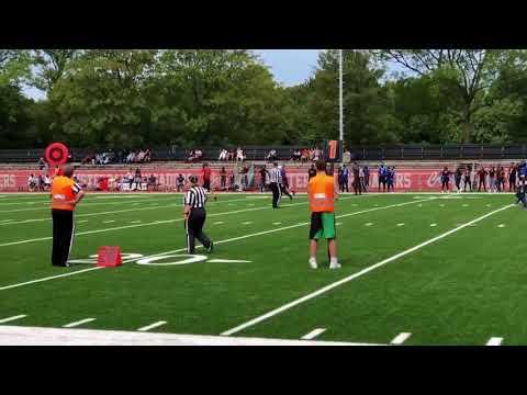 Yuan Lucht American Football Highlight 2018 (updated)