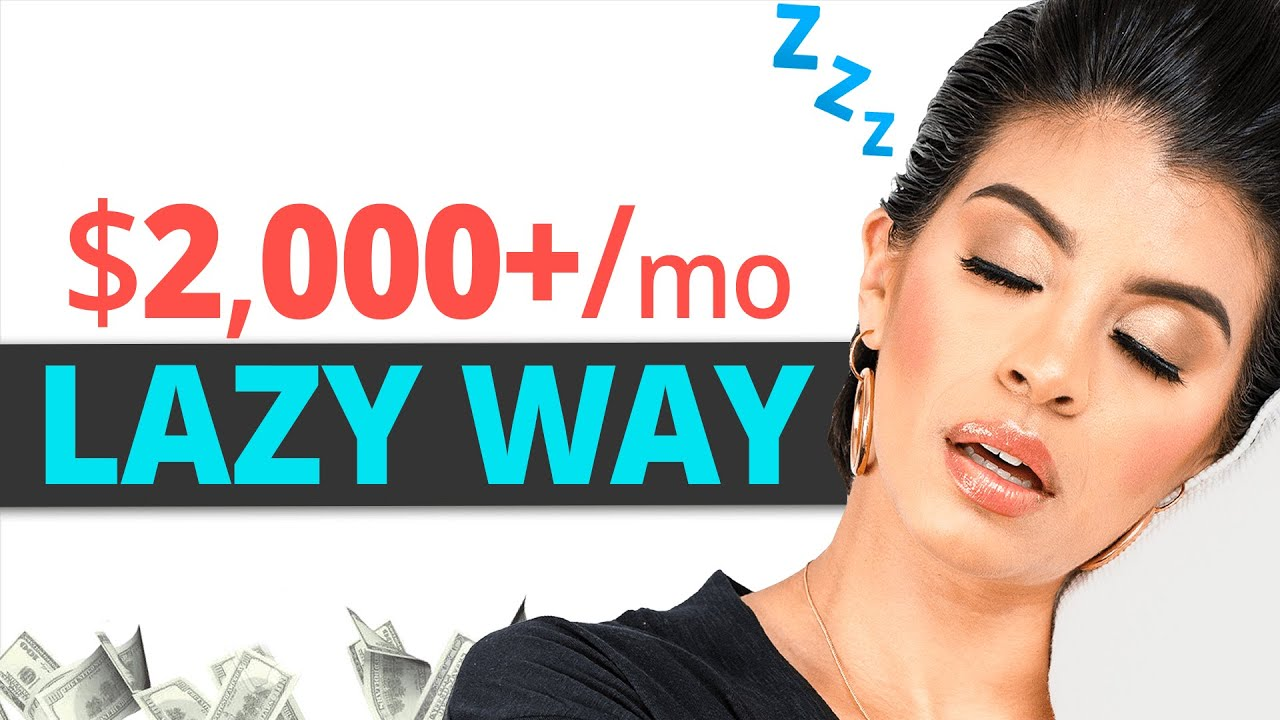 ($ 2,000/ mo ) Laziest Method to Earn Money Online For Newbies (SHOT Today) thumbnail