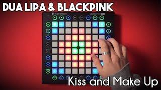 Dua Lipa & BLACKPINK   Kiss And Make Up  Launchpad Pro CoverRemix