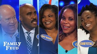 ALL-TIME GREATEST MOMENTS In Family Feud History!!! | Part 4 | More Steve Harvey Funny Moments