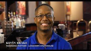 LongHorn Steakhouse employee testimonial video: Kevin Brake