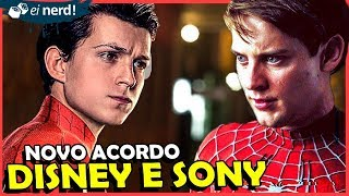 #Disney #Sony #Marvel #EiNerd  A Disney e a Sony fizeram um novo acordo e estão vindo com tudo.  Vote No EINerd: http://premioinfluenciadores.com.br/  Entre pro clube Ei Nerd: https://www.youtube.com/channel/UCt_4wzTQqmcUvemNkeO0plA/join  https://www.instagram.com/petjordan Canal PETER AQUI: https://goo.gl/4RsjRS  Se inscreva no Ei Nerd: http://goo.gl/J8l7PJ  EI NERD _ http://www.einerd.com.br Facebook    : https://www.facebook.com/einerd.com.br Grupo           : https://www.facebook.com/groups/Einerd Twitter         : https://twitter.com/Ei_Nerd Publicidade: comercial@einerd.com.br  Ideia para Vídeos: Instagram: @renanralts https://www.instagram.com/renanralts/ Facebook: https://www.facebook.com/renanralts  PETER JORDAN _ https://www.facebook.com/petjordan https://twitter.com/peterjordan100 https://www.instagram.com/petjordan  MANDE UM PRESENTINHO :)  Caixa Postal 95121 - Cep: 25655-970 Petrópolis / RJ